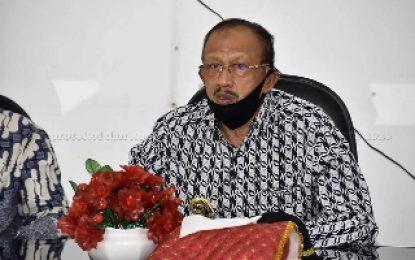 Bupati Natuna kembali Salurkan Bantuan Sembako di Kecamatan Midai dan Suak Midai