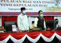 Ketua DPRD Jumaga Nadeak Pimpin Rapat Paripurna Penyampaian Laporan Hasil Pemeriksaan BPK-RI