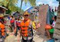 Peduli Masyarakat Kurang Mampu , Polres Karimun Salurkan 200 Sembako