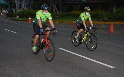 Dua Jenderal Bintang Satu Arungi Lintasan Surabaya