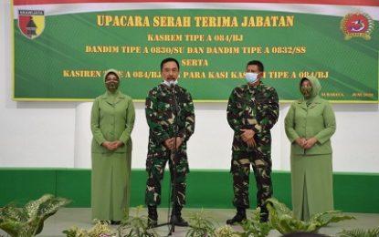 Lima Kolonel Duduki Posisi Baru di Korem Bhaskara Jaya