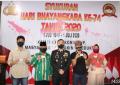 Upacara dan Syukuran Dalam Rangka Memperingati Hari Bhayangkara ke-74 di Polres Karimun